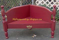 "corner ""headboard"" bench"