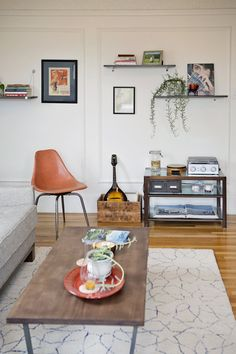 Carly & Scott's Colorful Collected Apartment
