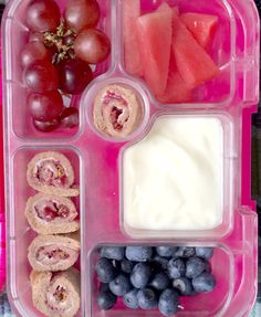 Healthy kids bento lunch