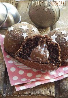 merendine mooncake pan di stella al cioccolato ripiene di nutella ricetta facile