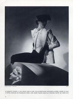Marcel Rochas 1936 Photo Horst
