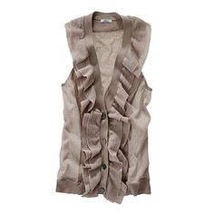 Dreamy Vest: Feel free to gift me this. :)
