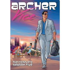 Join Archer in his fantasy with the Archer Season 5 Poster that features your favorite Secret Agent off in full Miami Vice style. Add this poster to y. Archer Tv Series, Archer Tv Show, Archer Fx, Archer Season 5, Chris Parnell, Sterling Archer, Image Internet, Miami Vice, Adult Cartoons