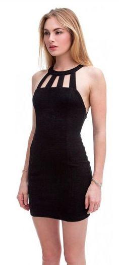 BohoPink - Lush French Kiss Black Bodycon Dress, $39.00 (http://www.bohopink.com/lush-french-kiss-black-bodycon-dress/)