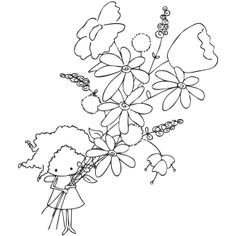 Stamping Bella Paisley Pixie Unmounted Rubber Stamp