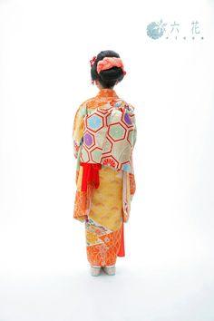 七五三  新日本髪スタイル  七歳女の子  レンタル着物・着付け・ヘアメイク・撮影など