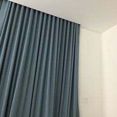 Shades By Design - Miami, FL, United States. Black out curtains in Blue. From…