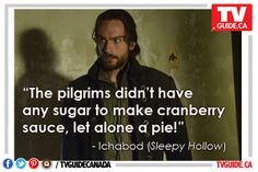 Monday's quote of the night comes via Sleepy Hollow