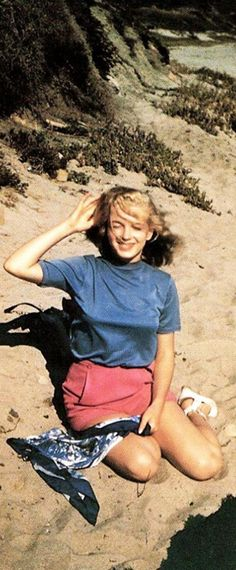 Marilyn. Photo by Bill Burnside, 1948.