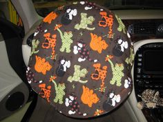 Cat Print Steering Wheel Cover by melsumn1 on Etsy, $18.05 Summer Clearance on all steering Wheel Covers