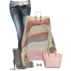 """The Poncho"" by anna-campos on Polyvore"