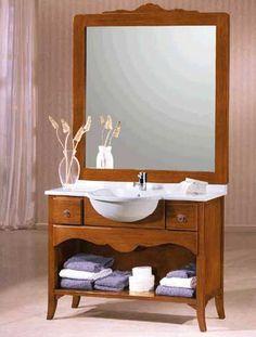 Klasszikus mosdó - www.montegrappamoblili.hu Vanity, Bathroom, Powder Room, Art, Dressing Tables, Washroom, Bathrooms, Makeup Dresser, Mirror