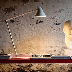 Louis Poulsen NJP LED-Schreibtischleuchte Weiss, LOVINHOME