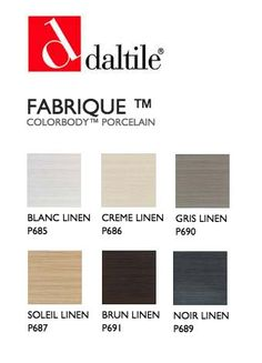 A Knock Off To Daltile S Quot Fabrique Quot Line Emser Tile