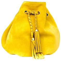 Vanina ANASTASIE MUSTARD SUEDE BAG ($185) ❤ liked on Polyvore featuring bags, handbags, shoulder bags, handbags shoulder bags, purse shoulder bag, handbag purse, yellow hand bags, suede handbags and hand bags