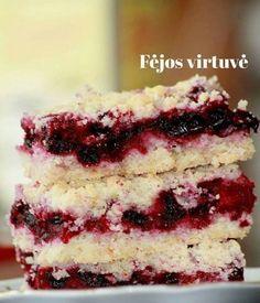 Lithuanian Recipes, Lithuanian Food, Sweeter Than Honey, Tiramisu, Cheesecake, Ethnic Recipes, Desserts, Cake, Tailgate Desserts
