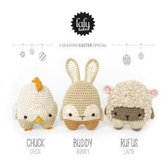 lalylala » crochet patterns for handmade dolls
