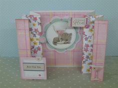 Little meow card Fancy Fold Cards, Folded Cards, Crafts To Do, Paper Crafts, Cardmaking, Card Ideas, Dog Cat, Just For You, Cats