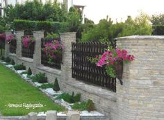 Stucco fences ideas