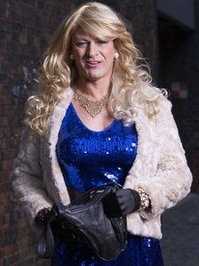 I loves me some BBC, but Sean Bean in drag?  I'm a little conflicted...awww, who am I kidding?  Bring it on!