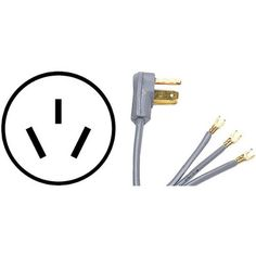 PETRA 90-1054 3-Wire Range Cord, 6-Foot, 40A by Petra. $10.51. From the Manufacturer                3-wire range cords are 6-feet in length and are 40 Amps with a UL listing and an open eyelet.                                    Product Description                The Petra Range Cord is 6ft long, UL listed & ISO 9002 certified, and 250V.