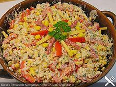 Ungarischer Reissalat