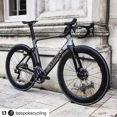 "107 Likes, 1 Comments - Bikes_FTW©™ (@bikes_ftw) on Instagram: ""#Repost @bespokecycling ・・・ Now on the Bespoke build gallery: S-Works Venge ViAS Disc Sagan…"""