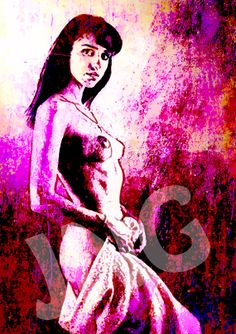 Figurative 72 instant digital download art nude by johnnovis, $3.00