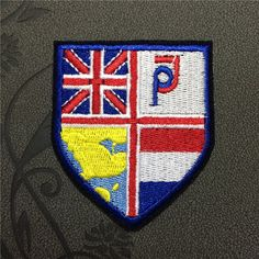 sheild patches iron on patches Patches Patchwork embroidered patches Iron on patches Sew on patches USA Fleckenworld 2.29 USD