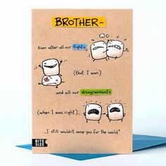 Birthday Card Ideas For Brother Diy Birthday Card Ideas For Brother Birthday Cards Made Toddlers. Birthday Card Ideas For Brother Diy Birthday Card Id. Diy Birthday Card For Boyfriend, Birthday Cards For Brother, Birthday Quotes For Daughter, Happy Birthday Friend, Birthday Card Sayings, Funny Birthday Cards, Sister Birthday, Birthday Images, Birthday Greetings