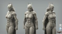ArtStation - Batman: Arkham Knight DLC, Batgirl Game Model, Christopher Cao