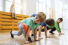 Physically fit children have better reading, processing and language skills than their less fit peers, U.S. researchers found