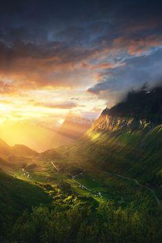 Mystical - Norway - Geirangerfjord