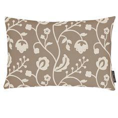 Raja Natural Grey Square Cushion