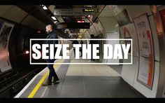"""London - Seize The Day - This is my first """"theme-based"""" video I ever made. I'd love you to get inspired by my words and the way how I see life."""