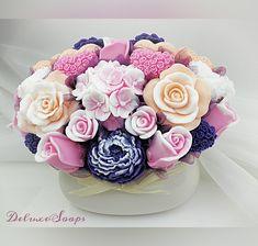 Rose Soap, Soap Making, Bouquets, Desserts, Handmade Soaps, World, Tailgate Desserts, Deserts, Bouquet