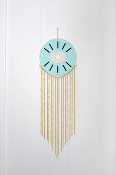 Gold Chain Wall Hanging DIY