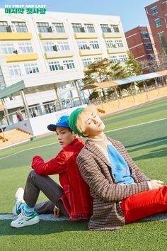 "NCT Dream Shares Haechan And Mark's Teaser Photos For ""My First And Last""   Soompi"