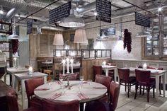 In the round. #restaurant #interior
