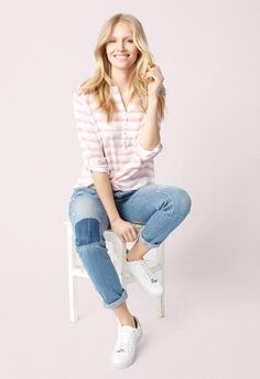Inspiration for her FLOWERFUL STRIPED from TOM TAILOR. Order online now