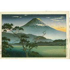"""Résultat de recherche d'images pour """"japanese estampe landscape"""""""