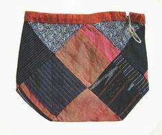 Birds of Ohio: Sri Threads Rice Bags.  Komebukuro