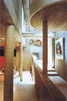 Schmela House and Gallery, Dusseldorf, Germany, 1967-71    (Aldo Van Eyck)
