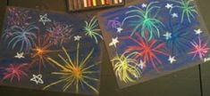 Create explosive chalk pastel fireworks this fourth of July. Create explosive fireworks, sparklers, and more using these chalk pastel lessons! Chalk Pastel Art, Chalk Pastels, Fireworks Art, Sparklers, Fourth Of July, Happy New Year, Create, Winter, Party Sparklers