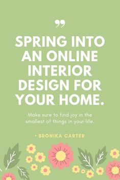 Give Your Home A Spring Makeover With An Online Interior Design Package,  Room Designs Start