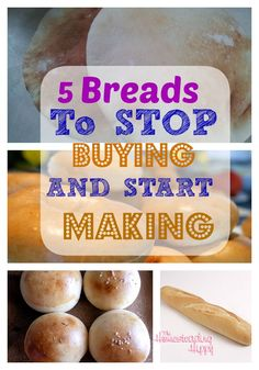 Stop buying these bread products and start making them at home for a simple, easy way to save money and eat better! The Homesteading Hippy