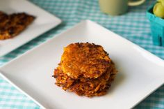 Sweet Potato Hash Browns - I don't know why they don't offer these as a healthy options at breakfast joints! So easy to make. I put it on a burger with an eggplant patti = so good. I also used the leftover on a English muffin with eggs and turkey bacon = Best breakfast sandwich I've ever had!