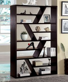 Love this Espresso Iggy Display Shelf by Furniture of America on #zulily! #zulilyfinds