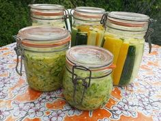 CONSERVES DE COURGETTES par Lactofermentation - En direct du Potager - YouTube