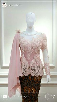 Kebaya Modern Hijab, Dress Brokat Modern, Model Kebaya Modern, Kebaya Hijab, Kebaya Dress, Dress Pesta, Kebaya Muslim, Muslim Dress, Dress Brukat